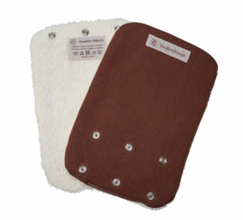 Teething Pads Brown