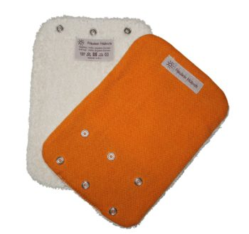 Teething Pads Orange
