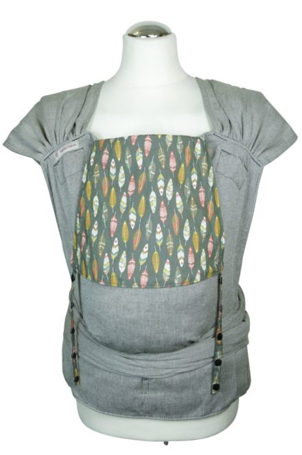 """Babycarrier WrapCon Toddlersize """"Feathers"""""""