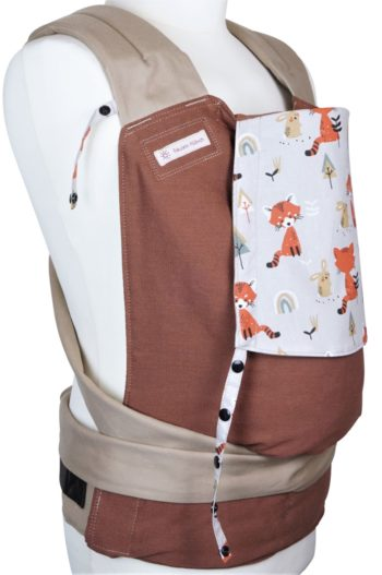 """Babycarrier Mei Tai Toddlersize """"Foxes"""""""